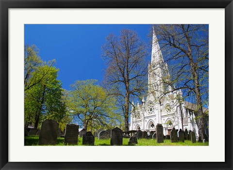 Framed Saint Mary's Cathedral Basilica Print