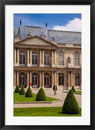 Framed Hotel de Soubise, Museum of French History Print