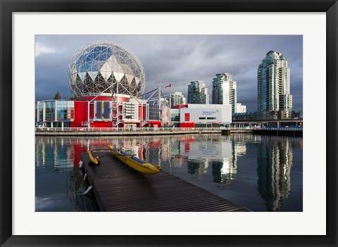 Framed False Creek, Science World Print