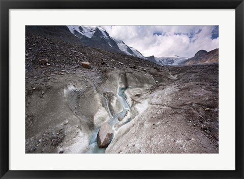 Framed Meltwater Channel Print