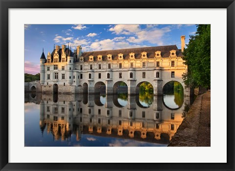 Framed Chateau Chenonceau, Castle, France Print