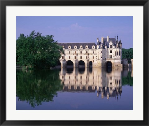 Framed Chateau du Chenonceau, Loire Valley, France Print
