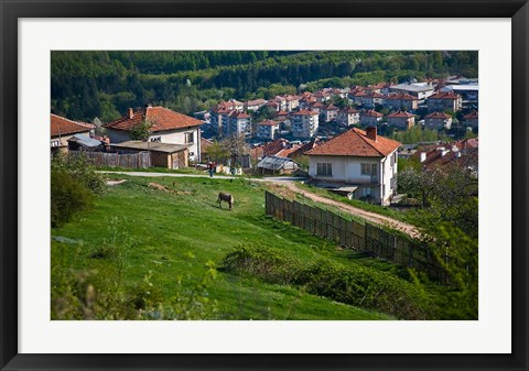 Framed Belogradchik Castle Ruins, Bulgaria Print