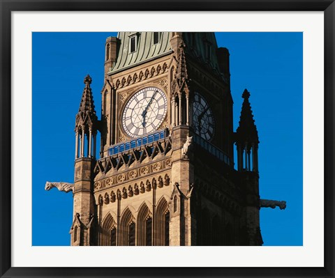 Framed Peace Tower, Ontario, Canada Print