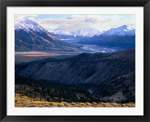 Framed Kluane National Park Print