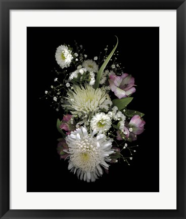 Framed Groc. Store - Winter White Print