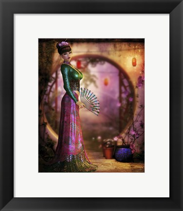 Framed Asian Inspiration Print