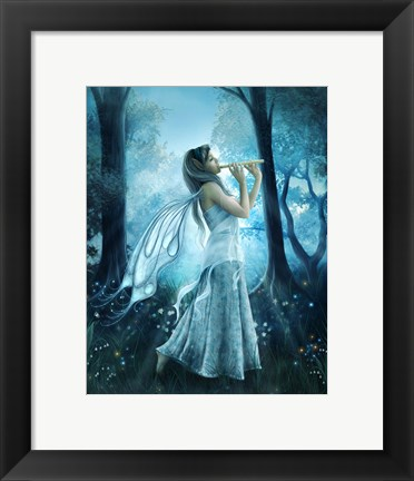 Framed Fairy Song Print