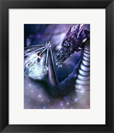 Framed Staring Contest Print