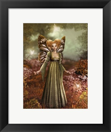 Framed Fairies Grove Print