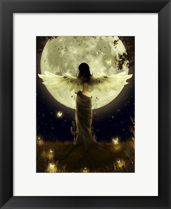Framed Guardian Of The Earth Print