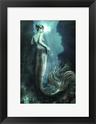 Framed Below The Surface Print
