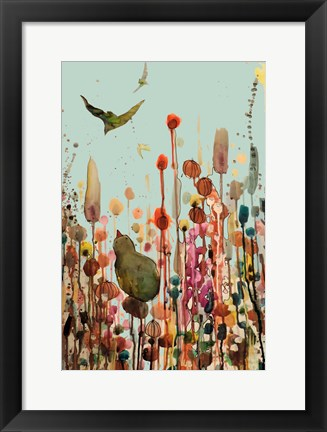 Framed Learning To Fly (Blue Sky) Print