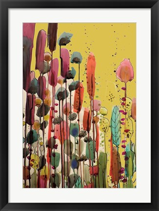 Framed If Spring Is There Print
