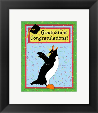 Framed Graduation Congratulations! Print