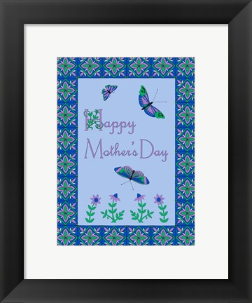 Framed Mothers Day Tile Print