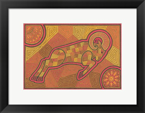 Framed Aries Print