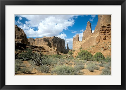 Framed Arches K Print