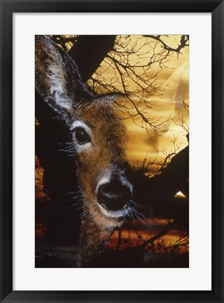 Framed Staying Safe 2 Print