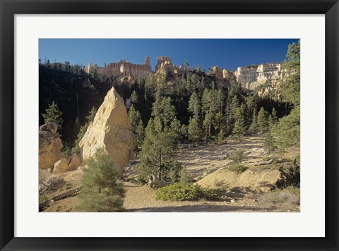 Framed Bryce Canyon I Print