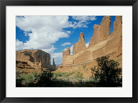 Framed Arches J Print