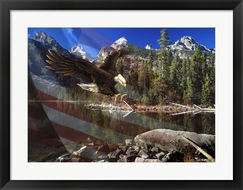 Framed Color Of Glory Print