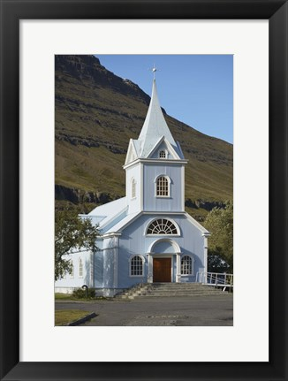 Framed Rural Church I Print