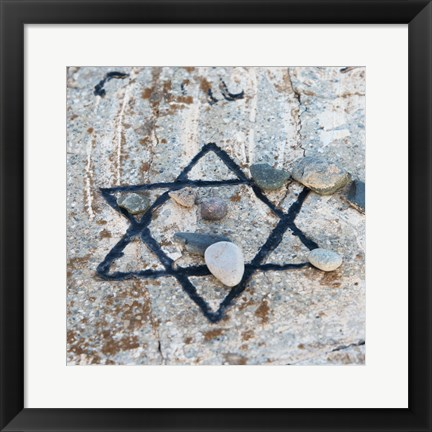 Framed Star of David Print