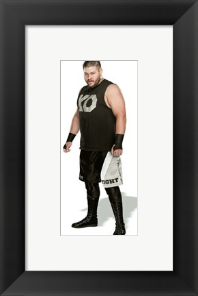 Framed Kevin Owens 2015 Posed Print
