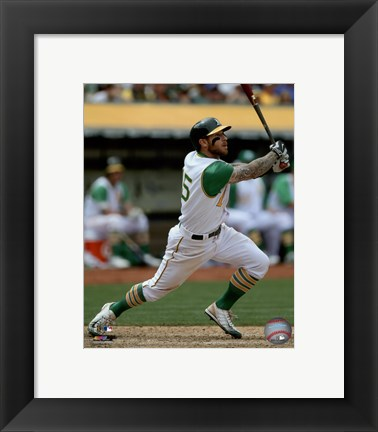 Framed Brett Lawrie 2015 Action Print