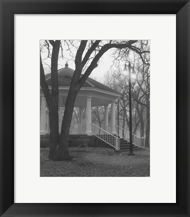 Framed Gazebo Stairs 2 Print
