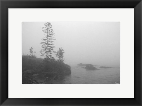 Framed North Shore 1 Print