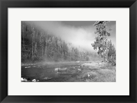 Framed Yellowstone 1 Print