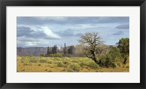 Framed Monument Valley 9 Print