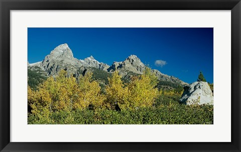 Framed Grand Teton 10 Print