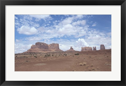 Framed Monument Valley 11 Print