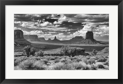 Framed Monument Valley 15 Print