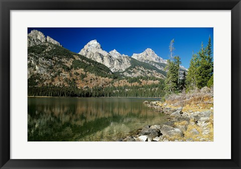 Framed Grand Teton 3 Print