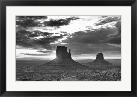Framed Monument Valley 3 Print