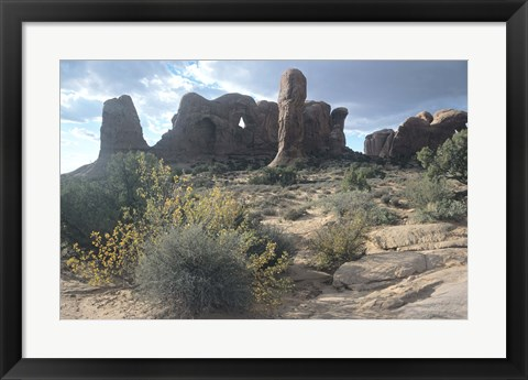 Framed Arches 25 Print