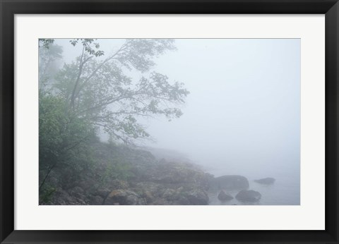 Framed Lake Superior 15 Print