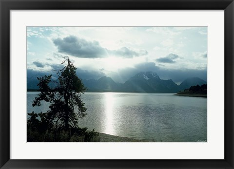 Framed Grand Teton 18 Print