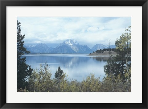 Framed Grand Teton 17 Print