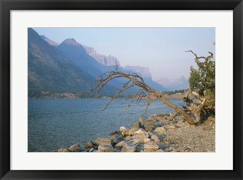 Framed Glacier National Park 13 Print
