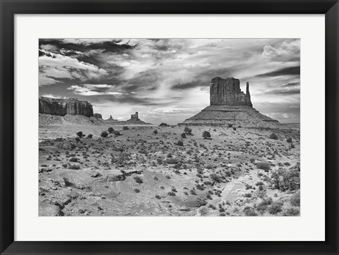 Framed Monument Valley 5 Print