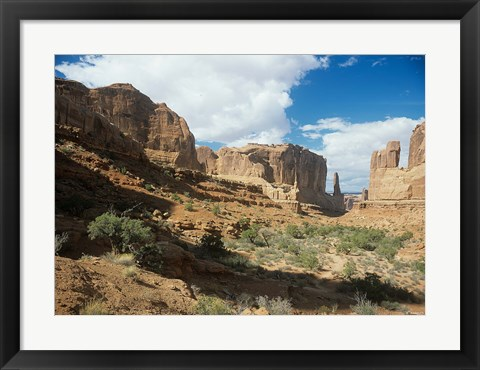 Framed Arches 7 Print