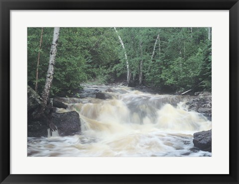 Framed Lake Superior 9 Print