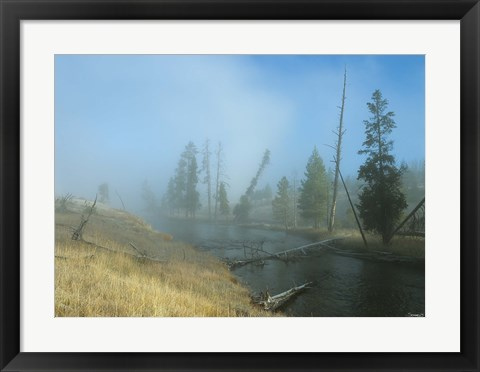 Framed Yellowstone 6 Print