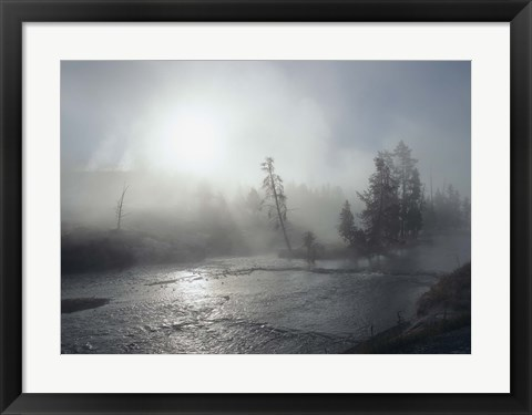 Framed Yellowstone 5 Print