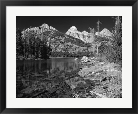 Framed Grand Teton 1 Print